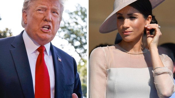 Trump attackiert Herzogin Meghan