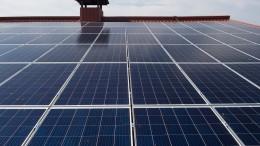 Boom in der Solarwirtschaft