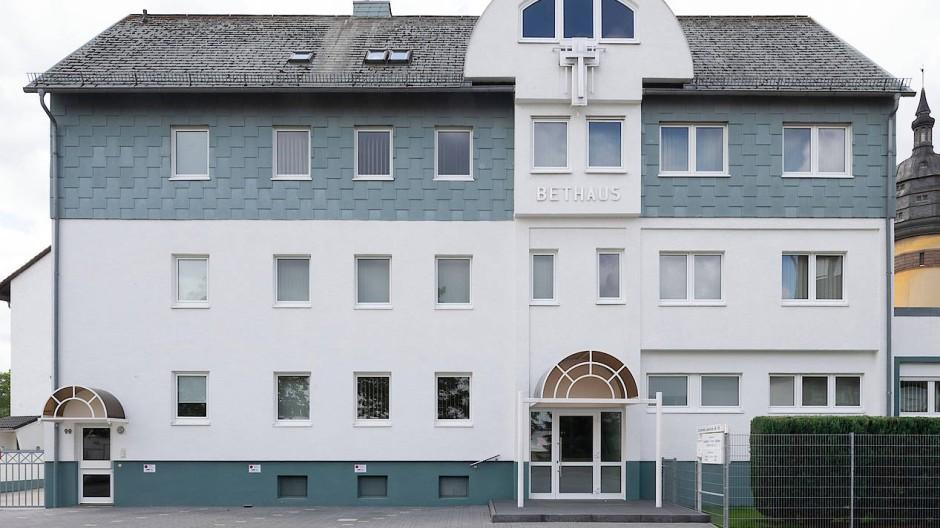 Mehr als 100 Infizierte: Kirchenhaus der Gemeinde in Frankfurt.