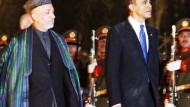 Obama zu Überraschungsbesuch in Kabul