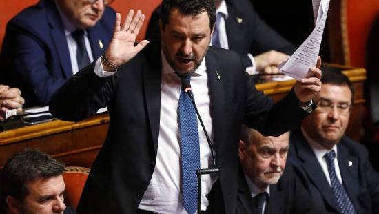 Weg frei für Gerichtsprozess gegen Matteo Salvini