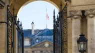 Der Tag der Entscheidung naht: Präsidentenpalast in Paris