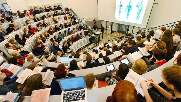 Gute Stimmung an großen Fachhochschulen