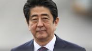 Künftige Stellung Japans: Ministerpräsident Shinzo Abe will sein Land zur neuen Größe verhelfen.