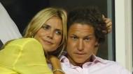 """Heidi Klum schmiegt sich an ihren Vito: """"Ich bin so verliebt – das sieht man doch, oder?"""""""