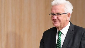 Kretschmann tritt in Baden-Württemberg an