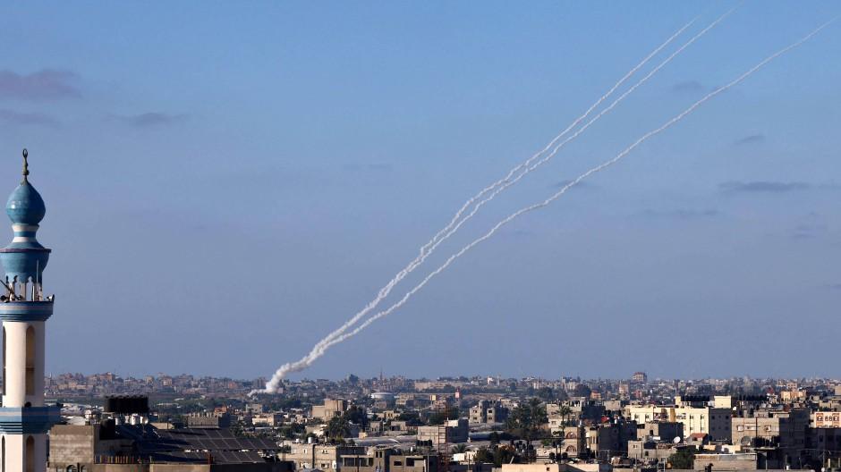 Israel unter Beschuss