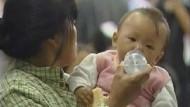 54.000 Kinder von Milchskandal betroffen