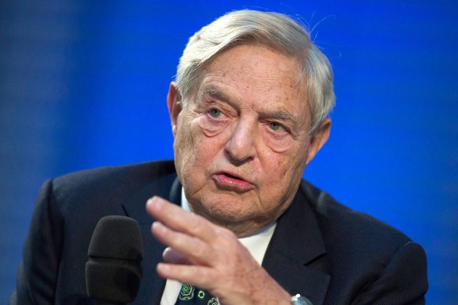 Beliebtes Feindbild der Rechtspopulisten und Verschwörungstheoretiker: der jüdische Milliardär George Soros