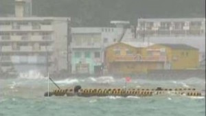 "Taifun ""Melor"" nimmt Kurs auf das Land"