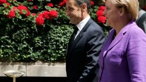 Merkel und Sarkozy stellen Barroso Bedingungen