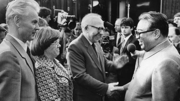Als sie für Erich Honecker übersetzte