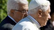 Benedikt plädiert für palästinensischen Staat