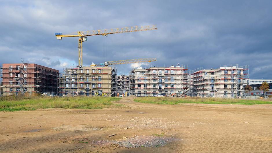 117 Wohnungen werden in diesem Neubaugebiet in Potsdam fertig gestellt.