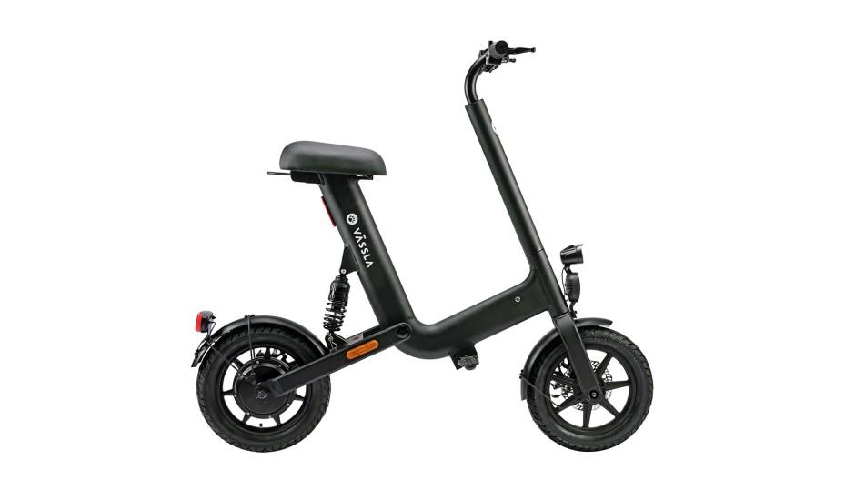 Setz dich: Das Vässla Bike fährt nicht schneller als ein E-Scooter, ist aber gemütlicher.