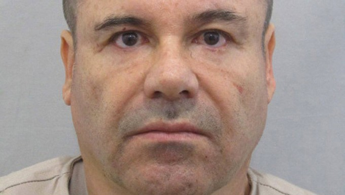 """""""El Chapo"""" Guzman, das undatierte Foto zeigt den mexikanischen Drogenboss."""