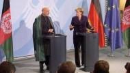 Treffen von Merkel und Karzai