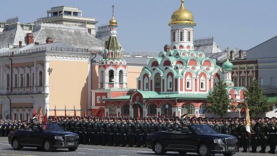 Moskau feiert 75. Jahrestag des Kriegsendes