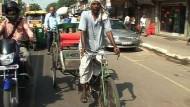 Solar-Rikscha soll Indiens Verkehr revolutionieren