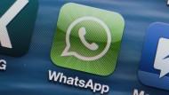 Heute auf fast jedem Smartphone: der Nachrichtendienst WhatsApp.