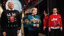 Der Weihnachtspullover feiert sein Comeback