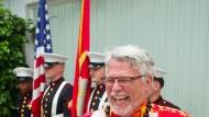 Amerikanischer Unabhängigkeitstag: Generalkonsul James Herman trägt passend dazu ein Hawaiihemd.