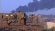 Israel setzt Beschuss des Gazastreifens fort