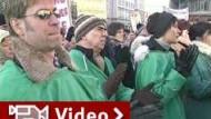 Niedergelassene Ärzte protestieren