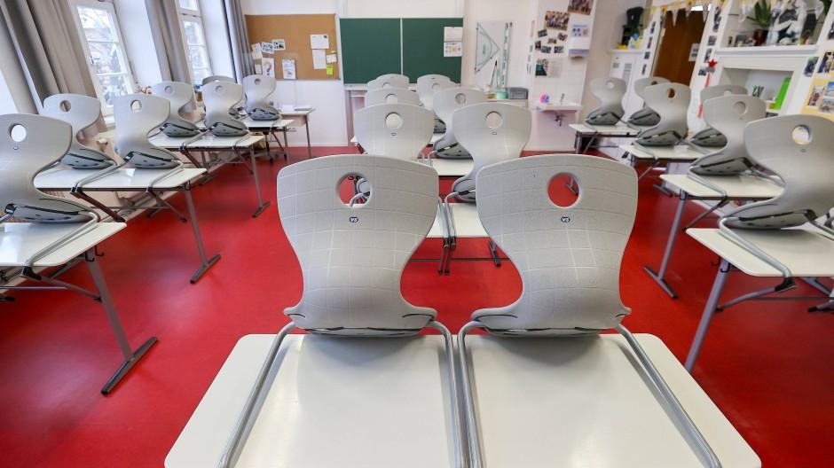 Leer: Klassenzimmer in Leipzig