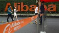 Handelsriese aus Fernost: Der Konzern Alibaba will in Deutschland den Bezahldienst Alipay einführen.