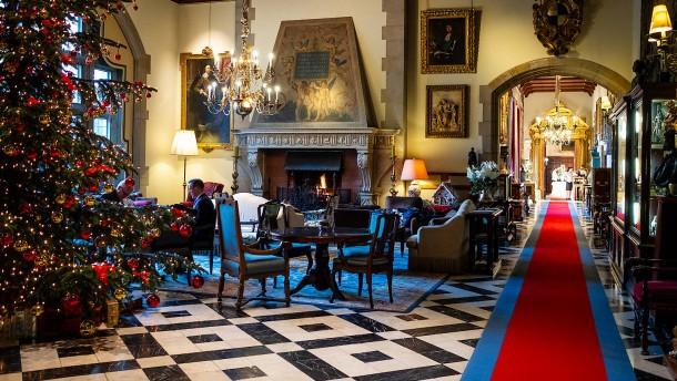 Logieren im englischen Schloss
