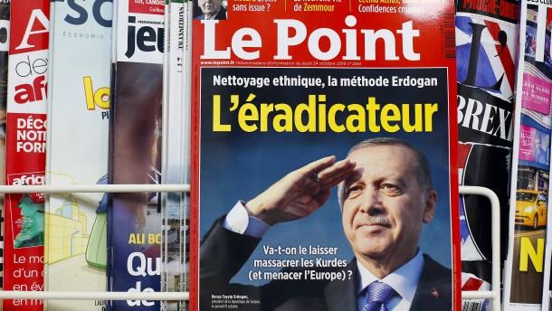 Erdogan verklagt Magazin