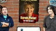 Palin fällt auf Stimmenimitator herein