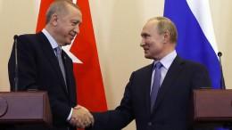 Putin und Erdogan vereinbaren türkisch-russische Patrouillen in Nordsyrien