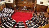 Serbisches Parlament verurteilt Srebrenica-Massaker