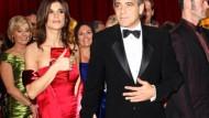 George Clooney feiert 50. Geburtstag