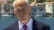 """Papandreou: """"Es ist eine nationale Notwendigkeit"""""""