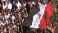 Regime schießt Proteste nieder