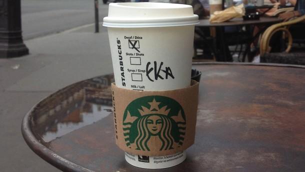 5 Cent für jeden Pappbecher bei Starbucks