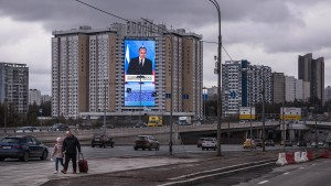 Angst vor Sanktionen schwächen den Rubel