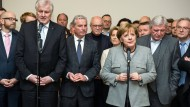 Bundeskanzlerin Angela Merkel steht durch das Scheitern der Jamaika-Verhandlungen vor der größten innenpolitischen Krise ihrer bisherigen Amtszeit.