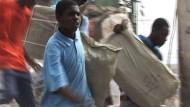 Port-au-Prince in der Hand der Plünderer