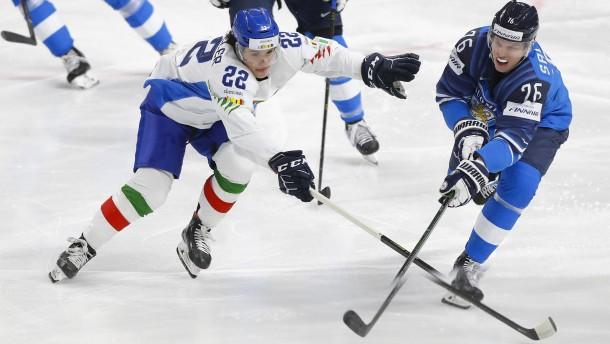 Finnland überholt Deutschland bei Eishockey-WM
