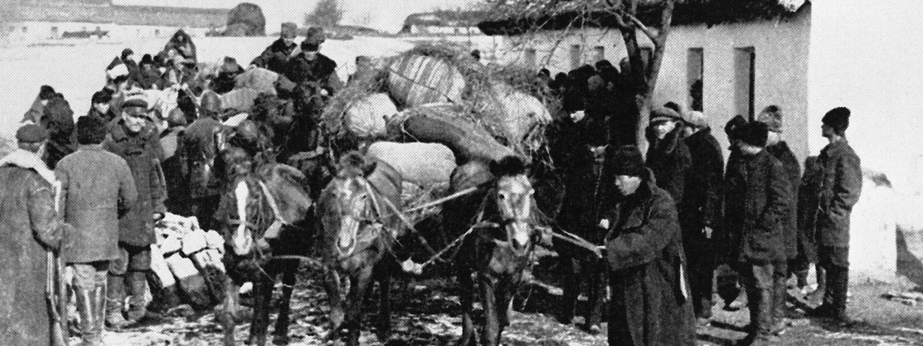 Als Zehntausende Russlanddeutsche fliehen mussten