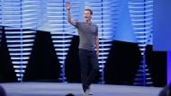 Wagt mit Echtzeitvideos ein neues Projekt: Facebook-Vorstandsvorsitzender Mark Zuckerberg