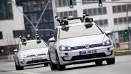Das autonome Fahren wird kommen. Die Frage ist: Unter welchem Netz wird das geschehen?