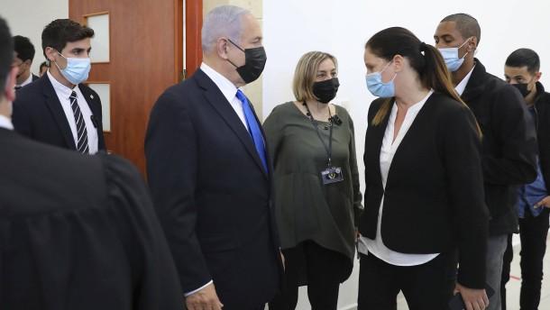 Korruptionsprozess gegen Netanjahu geht weiter