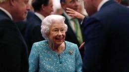 Queen sagt Reise zur Weltklimakonferenz in Glasgow ab