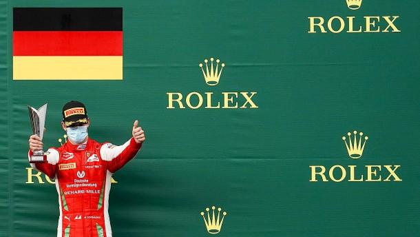 Mick Schumacher wird Zweiter im Sprint von Spa