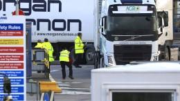 London streitet mit Brüssel über Grenzverkehr